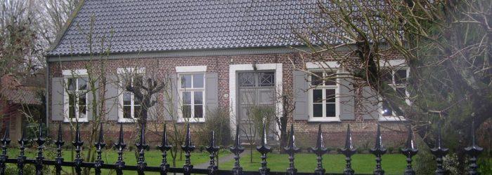 Maison flamande typique